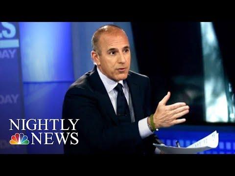 Woman Speaks Out About Secret Matt Lauer Affair | NBC Nightly News