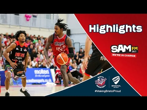 HIGHLIGHTS: Bristol Flyers 70-80 Leicester Riders