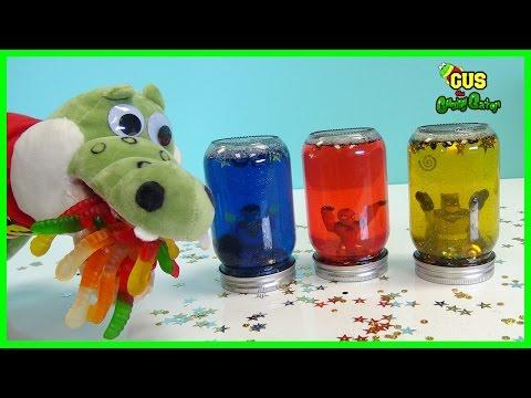 DIY Glitter Jar kids activities! Children Creative Play Crafts