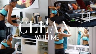 EXTREME CLEAN WITH ME | MY REALISTIC APARTMENT DEEP CLEANING ROUTINE 2018