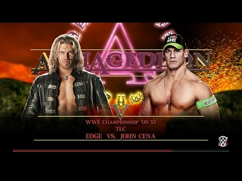 John Cena vs Edge TLC Full Match HD WWE Unforgiven 2006