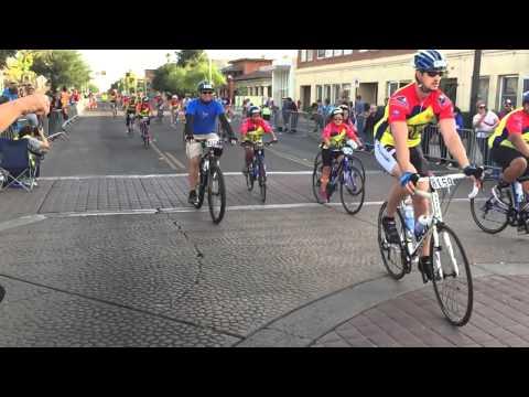 The JET Team completing the 2014 El Tour De Tucson