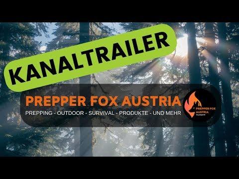 Prepper Fox Austria - Neuer Kanaltrailer ???? 1 Jahr Youtube!
