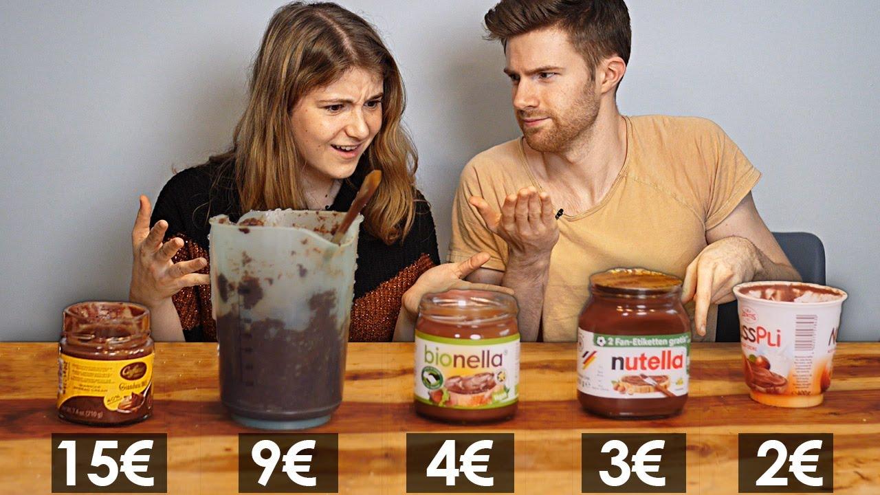 Download Was taugt PREMIUM NUTELLA? 2€ VS. 15€