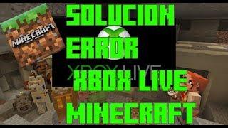 ✓COMO SOLUCIONAR EL ERROR AL INICIAR SESIÓN EN XBOX LIVE   MINECRAFT PE