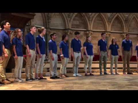 Bentonville High School Chamber Choir- Only in Sleep by Eriks Esenvalds