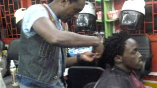 Steve roots kumari, bahati afro locks @ THE ROOTS