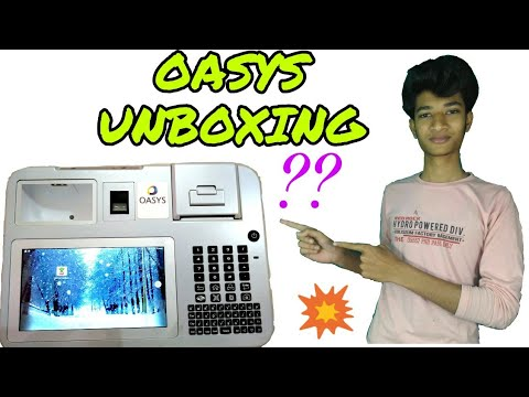 OASYS( MACHINE UNBOXING)...bengali