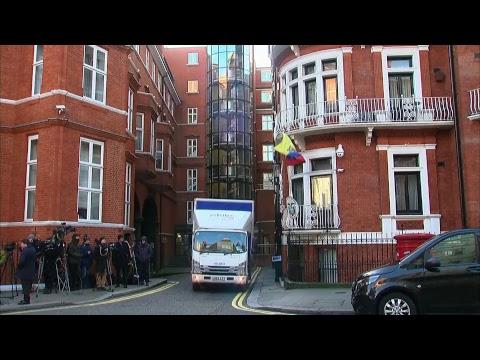 British Judge ruling on arrest warrant against Julian Assange