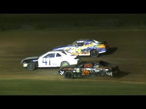 Mini Stock Feature | McKean County Raceway | 7-14-16