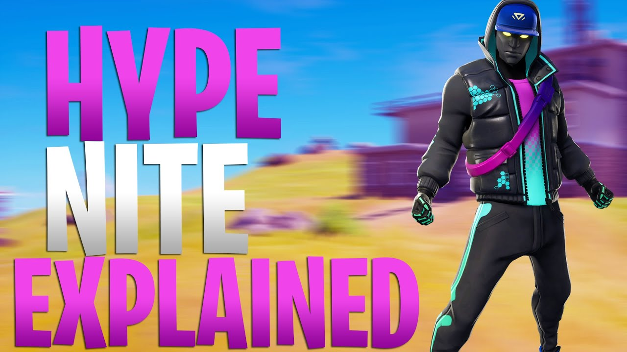 Why Do You Lose Hype In Fortnite How To Claim Hype Nite Points Solo Hype Nite Explained Youtube