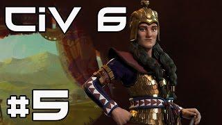 Civilization 6 Multiplayer - Conquering a City! #5