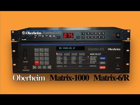 OBERHEIM MATRIX-1000 / MATRIX-6 Analog Synthesizer | DEMO | NEW PATCHES