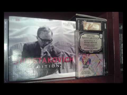 Witold Rowicki conducts Shostakovich. Symphony 5 (LSO, 1960s, from cassette)