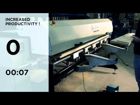 Anny 3T-P | Pneumatic Hinge Machine | EuGénie Canada Inc.