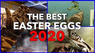 The BEST Video Game Easter Eggs Of 2020 - Part 1