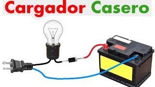 Como cargar la batería de tu auto en tu casa Muy fácil de hacer!