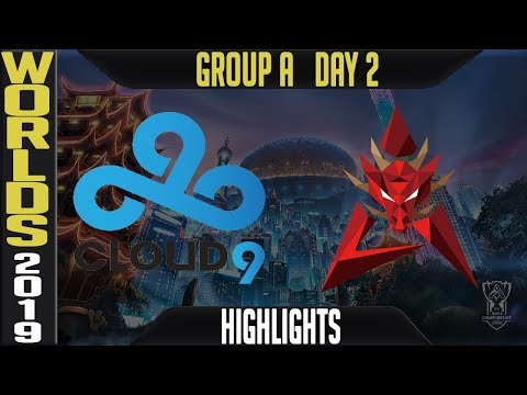 C9 vs HKA Highlights Game 1 | Worlds 2019 Group A Day 2 | Cloud9 vs Hong Kong Attitude