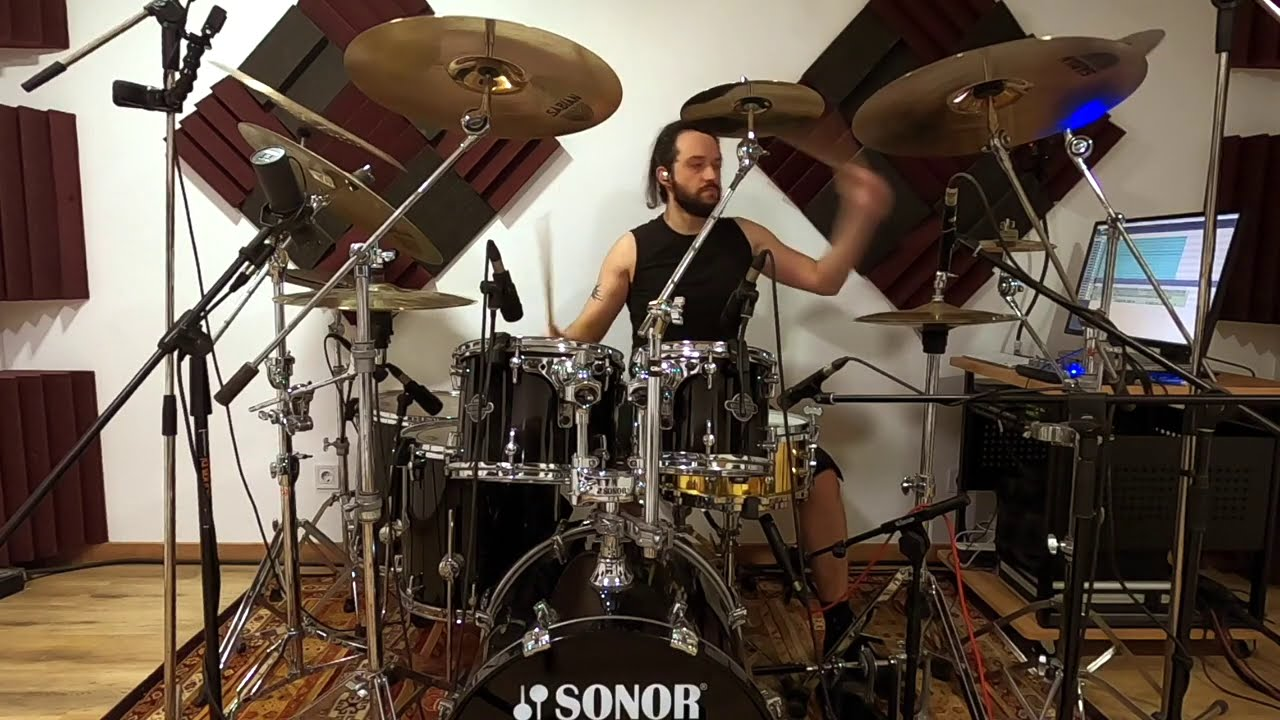 """Moonspell e Hugo Ribeiro Lançam """"Drum Playthrough"""" de  """"The Greater Good"""""""