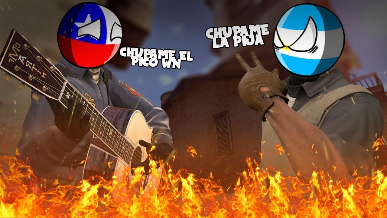 A LAS PUTEADAS CON CHILENOS | Chistes, bardo y risas CS:GO Argentina