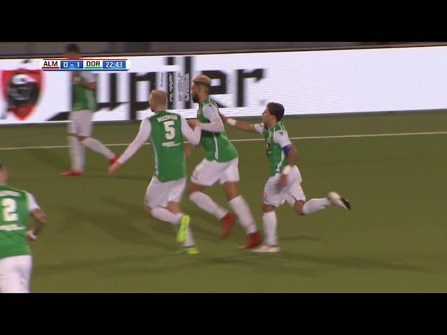 Samenvatting: Almere City FC - FC Dordrecht (1-2)