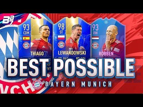 BEST POSSIBLE BAYERN MUNICH TEAM! w/ TOTS LEWANDOWSKI AND EOE ROBBEN! | FIFA 19 ULTIMATE TEAM