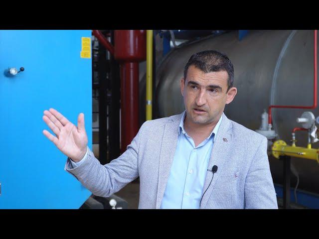 Direktor Gradske toplane Pirot Bratislav Ćirić o remontu postrojenja, planovima...