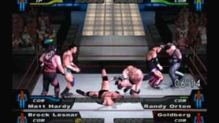 wwe smackdown here comes the pain kane matt hardy lesnar vs undertaker orton goldburg part 2