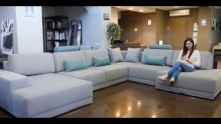 BLEST | Sectional sofa bed BL 102