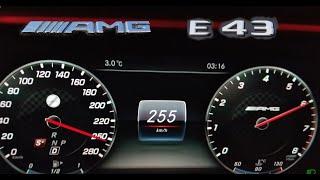 2018 Mercedes AMG E43 Beschleunigung und Fahrleistungen