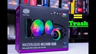 Cooler Master Trash AIO! MasterLiquid ML240R RGB