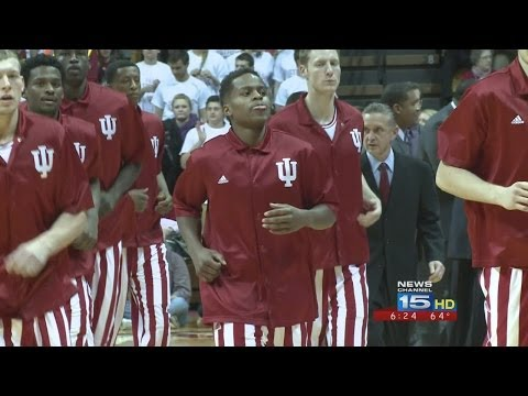 Indiana's Yogi Ferrell and Stanford Robinson arrested.