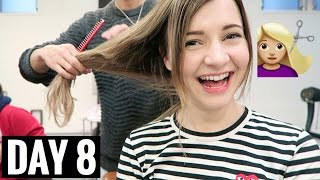 CUTTING MY HAIR SHORT | vlogmas day 8