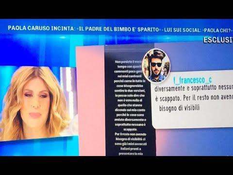 Paola Caruso Incinta Malore A Domenica Live Dramma In Studio Youtube