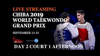 Chiba 2019 World Taekwondo Grand Prix Day 2 Court 1 Session 2