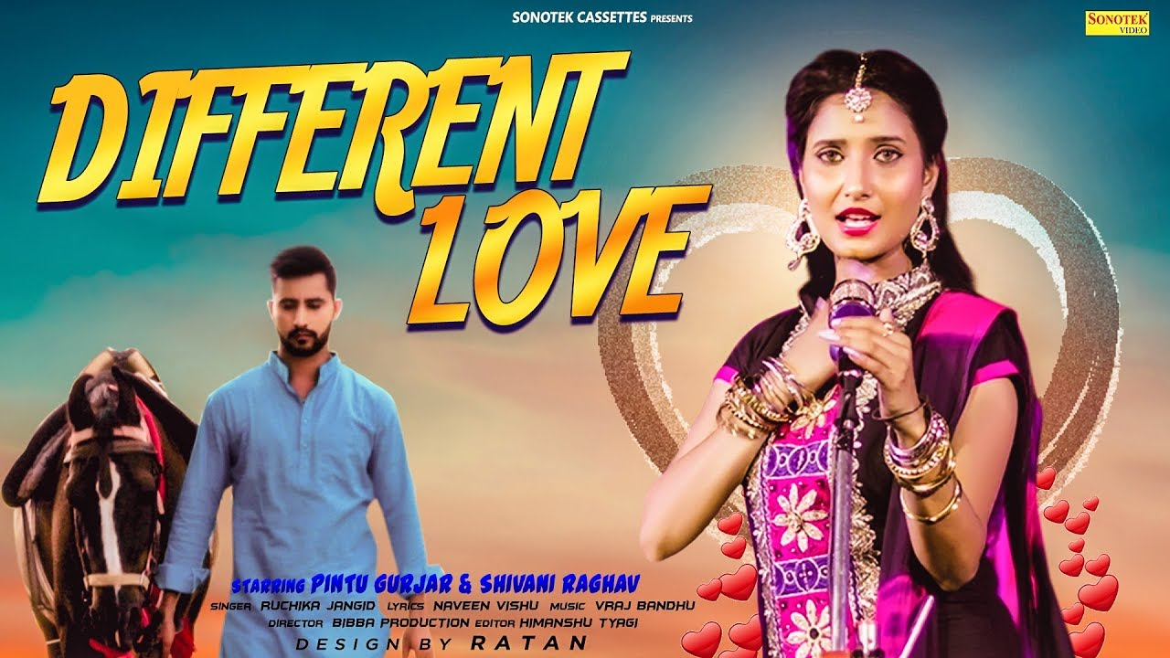 Different Love   Shivani Raghav, Pintu Gurjar, Ruchika Jangid   Latest Haryanvi Songs Haryanavi 2019