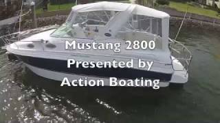 Mustang 2800 Sports Cruiser for sale Action Boating, boat sales, Gold Coast, Queensland, Aust