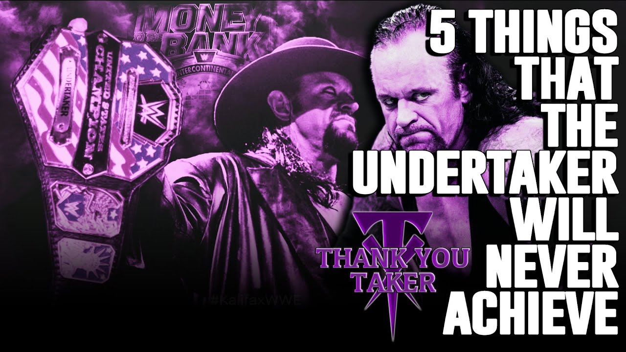 5 Things That The Undertaker Will Never Achieve