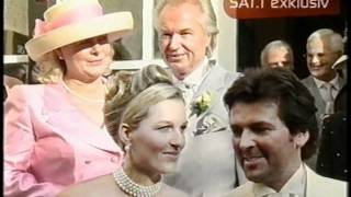 Свадьба Томаса Андерса и Клаудии Хесс. Часть 2