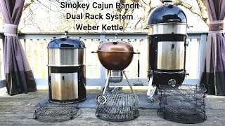 Weber Smokey Mountain   Weber Kettle   Multi Rack System   Modification