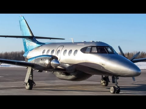 Pascan Aviation BAe Jetstream 32 (JS32) In Action in Quebec City (YQB/ CYQB)
