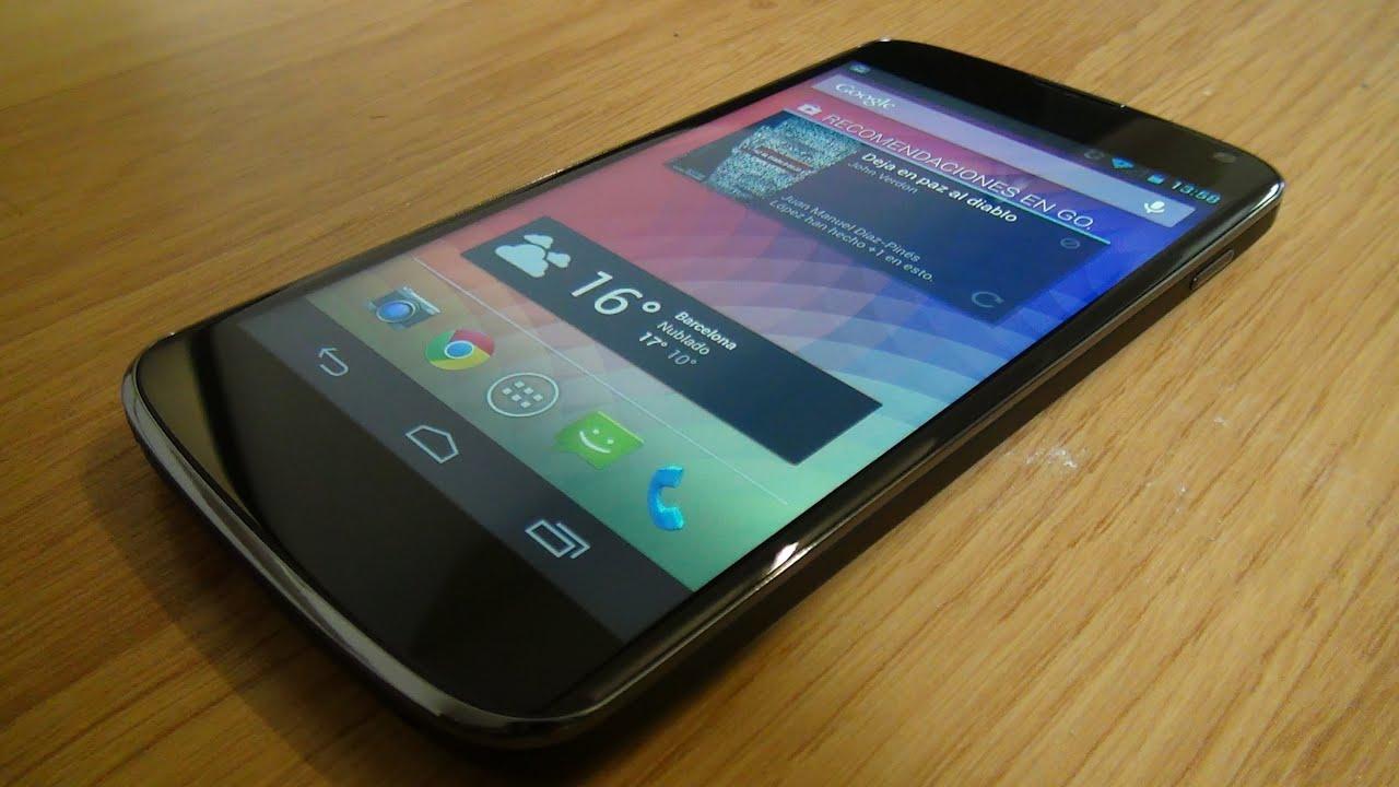 Videoreview Google Nexus 4 [HD][ESPAÑOL]