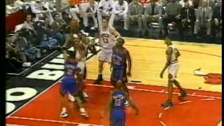 Michael Jordan 44 pts, playoffs 1996 bulls vs knicks game 1