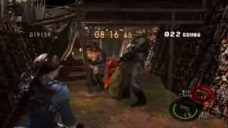 Resident Evil 5 mod Public Assembly silent hill Super Mix enemies