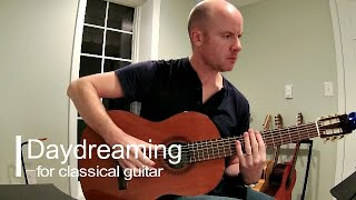 Radiohead: Daydreaming for classical guitar + TAB
