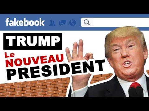 Trump président sur Facebook