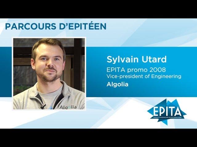 Parcours d'Epitéen - Sylvain Utard (promo 2008) - Algolia