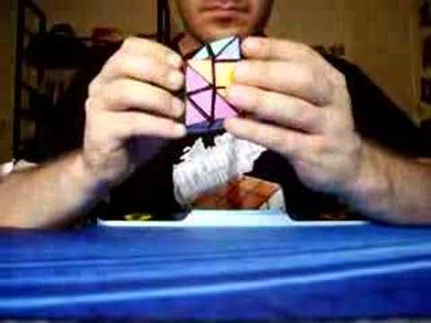 halft truncated cube solve