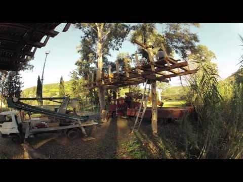 Casa sull'albero-tree house Allai Sardegna