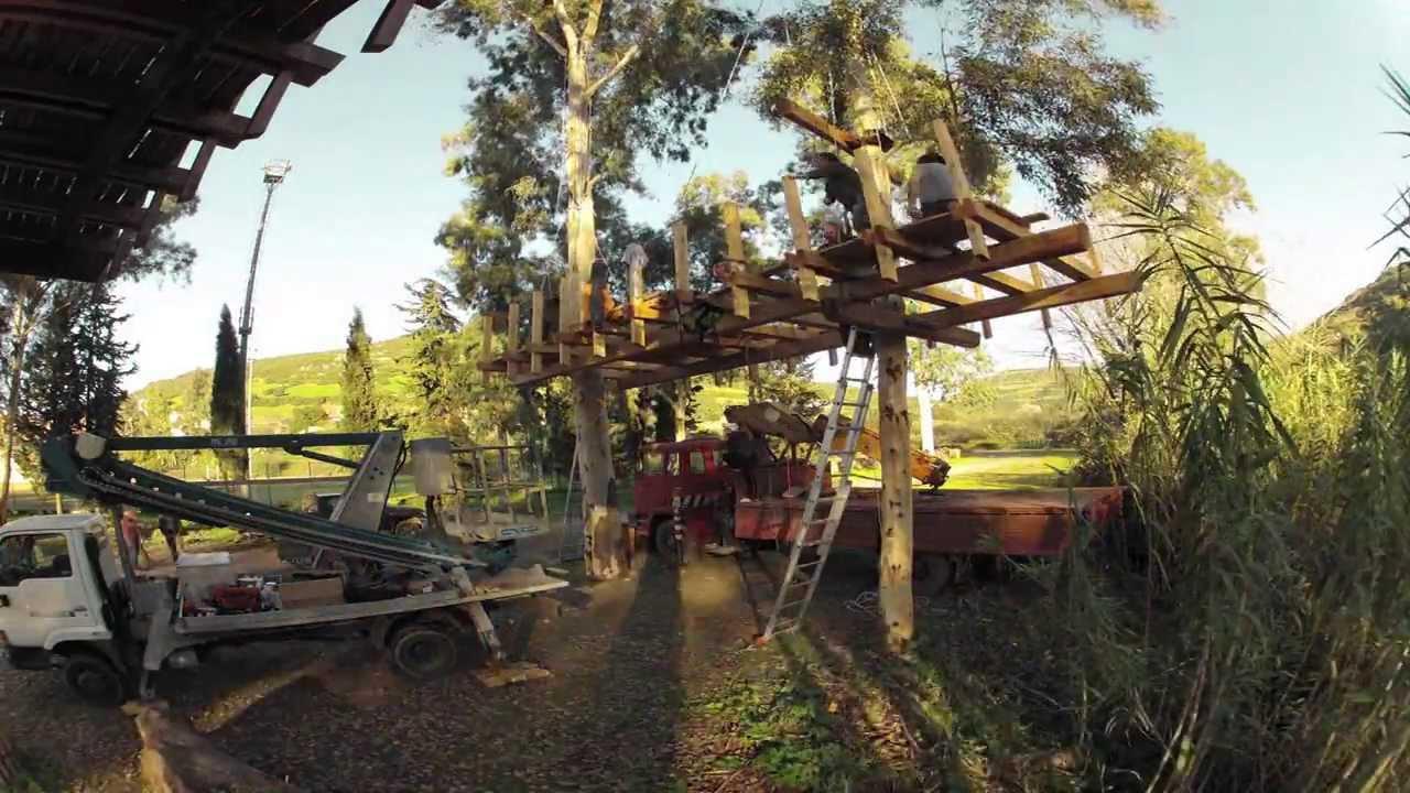 Casa sull 39 albero tree house allai sardegna youtube - Casa sull albero airbnb ...